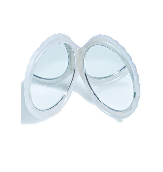 Rosehound Apparel Shell Compact Mirror