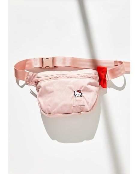 X Hello Kitty Rose Satin Hip Pack