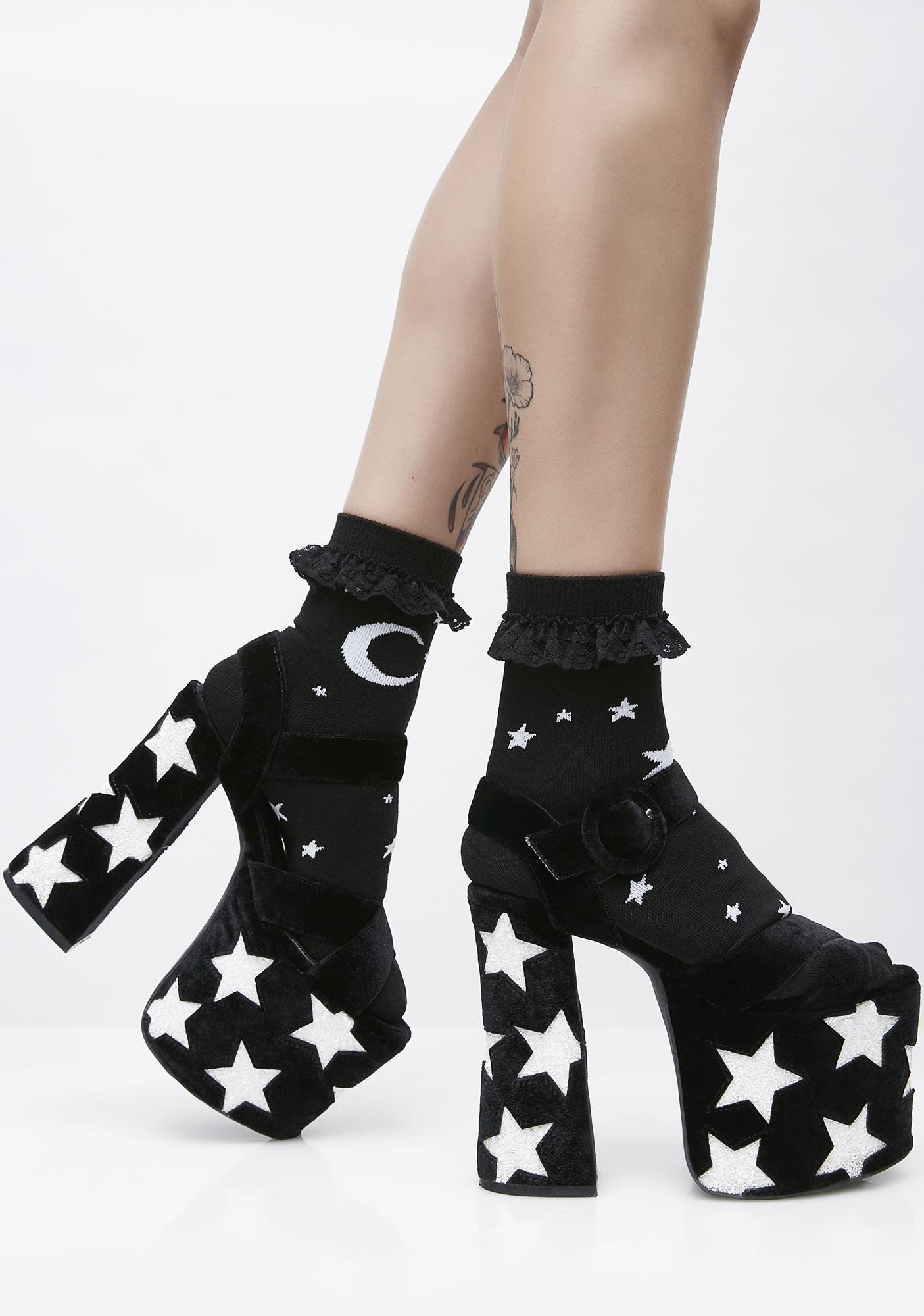 Killstar Sweet Beams Ankle Socks