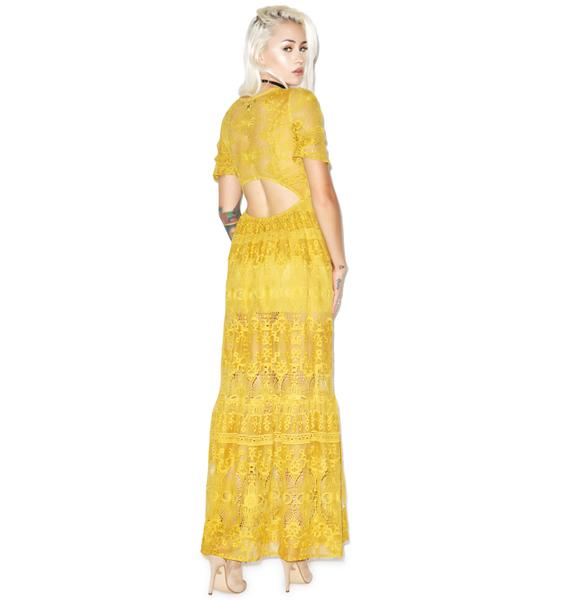 For Love & Lemons Sienna Maxi Dress