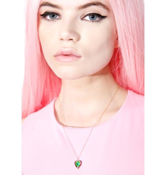 Bleeding Love Necklace