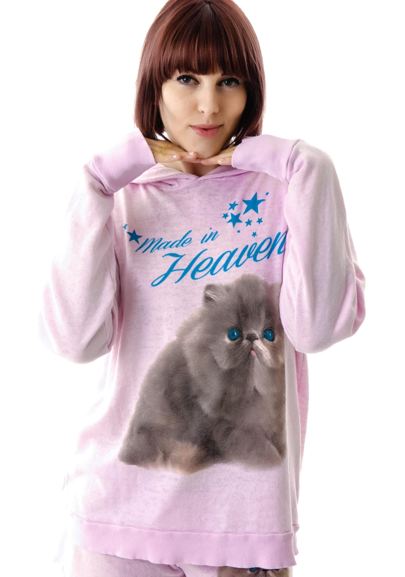 Wildfox Couture Made in Heaven Gypsy Pullover Hoodie