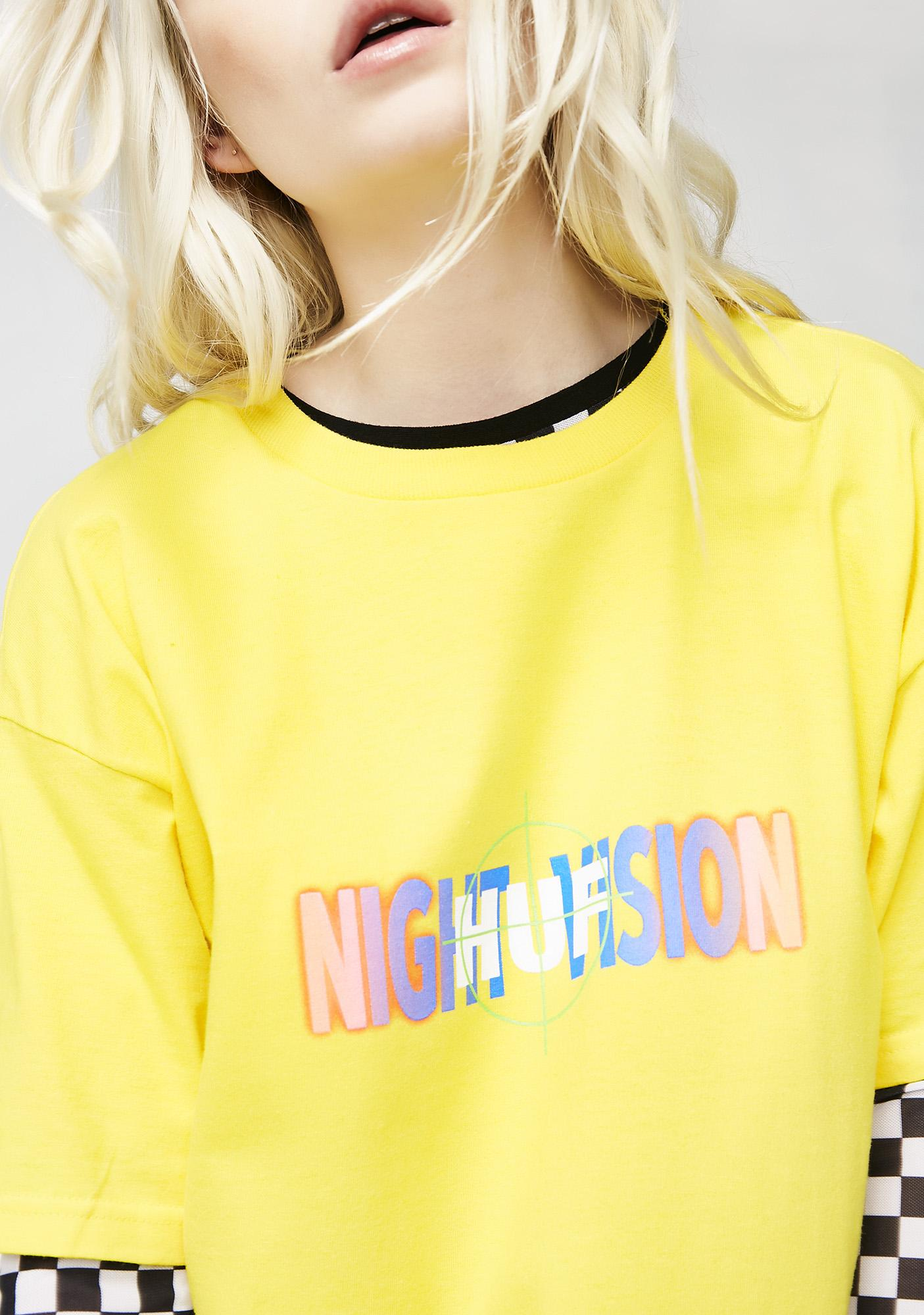 HUF Night Vision Short Sleeve Tee