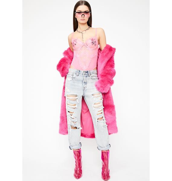 Lady Allure Lace Bodysuit