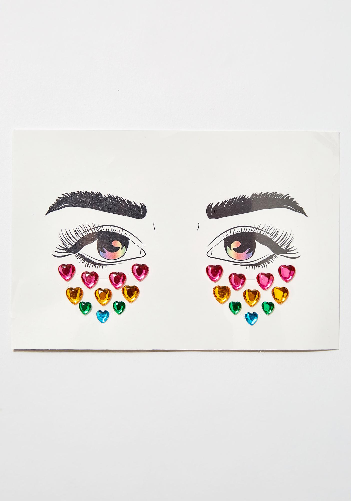 Glitter Disco Child The Look Of Love Face Gems