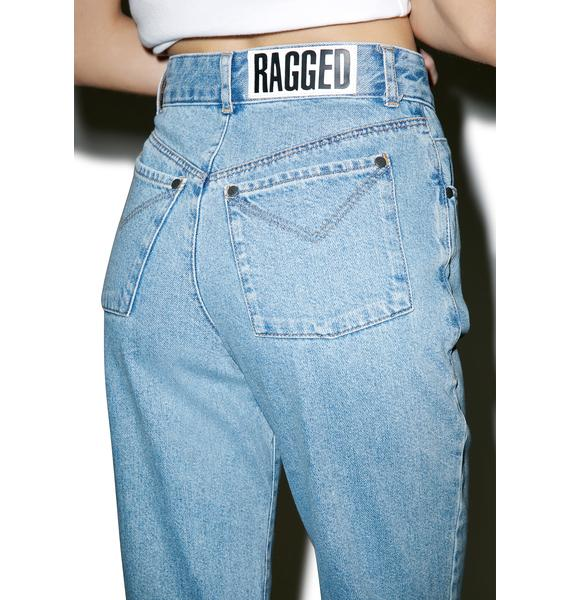 The Ragged Priest Party Pooper Mom Jeans