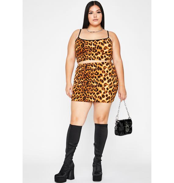 Gonna Keep It Catty Leopard Set