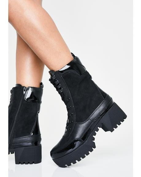 2166298a39 👢 Women's Punk Boots, Knee High Boots & Ankle Boots | Dolls Kill