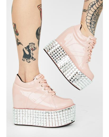 Baby Disco Stomp Platform Sneakers