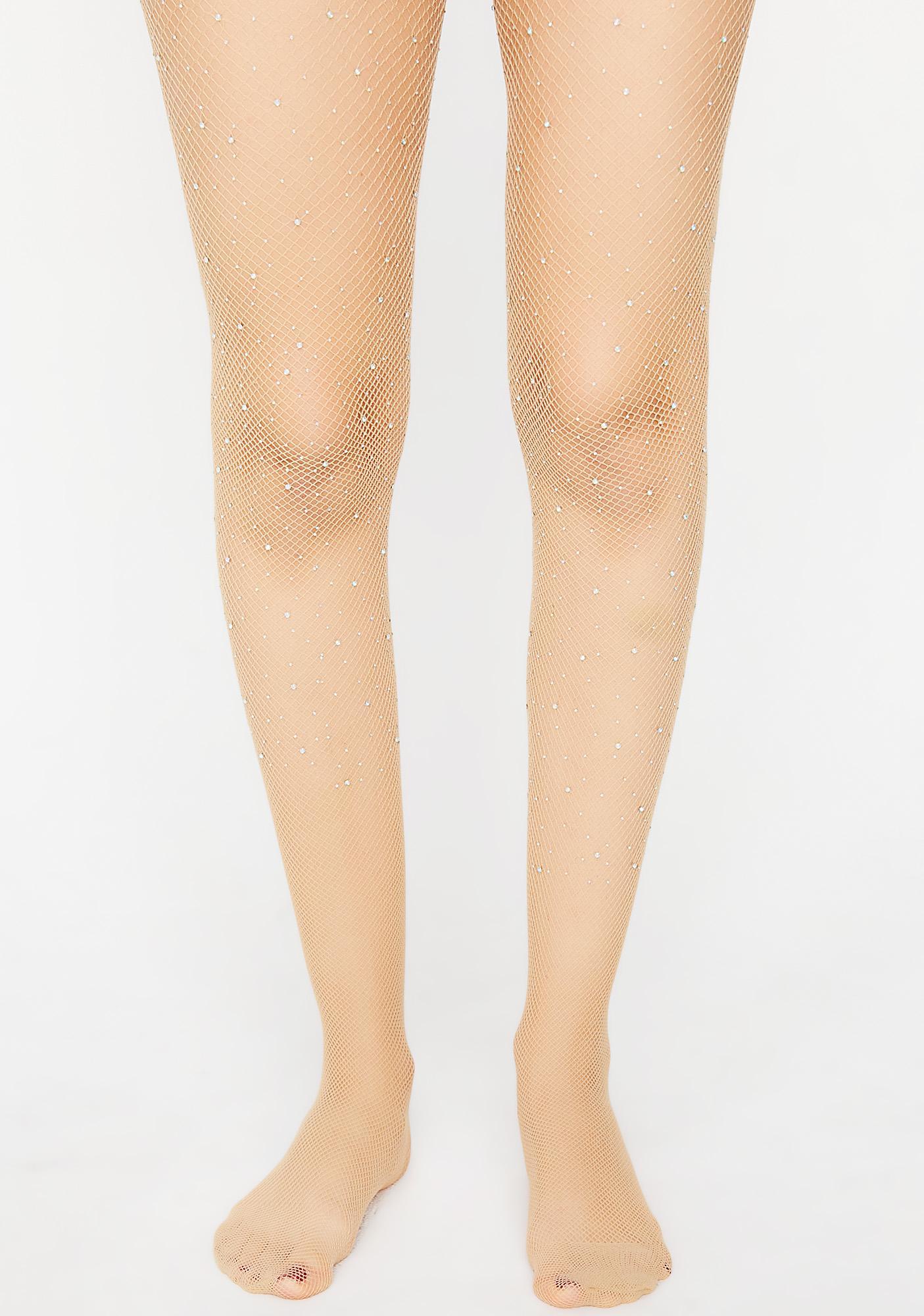 Nude Dazzlin' Sight Tights