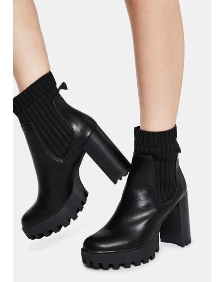 Wind It Up Platform Boots