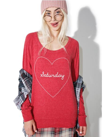 Saturday Love Sweater