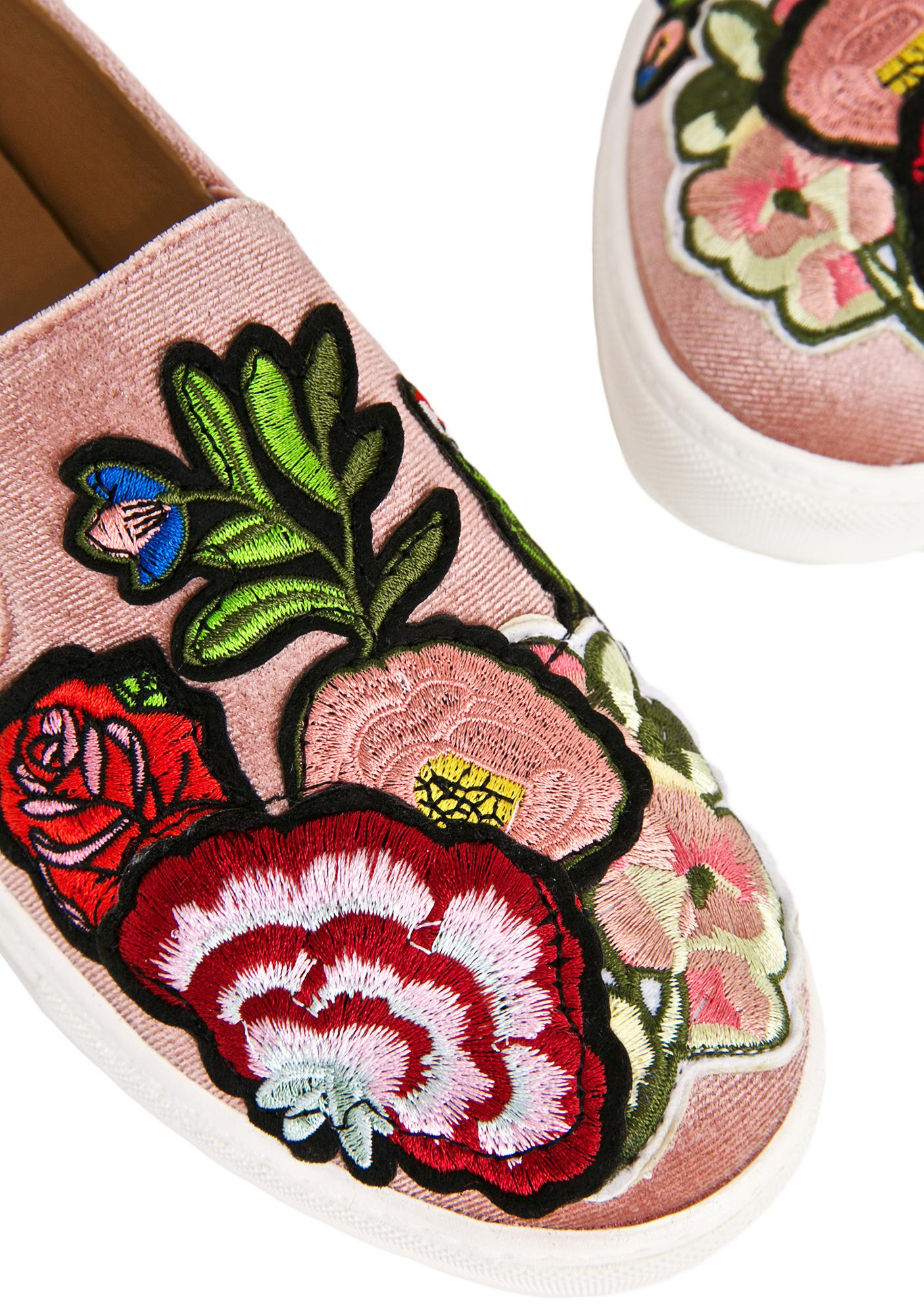 Jiana Velvet Sneakers