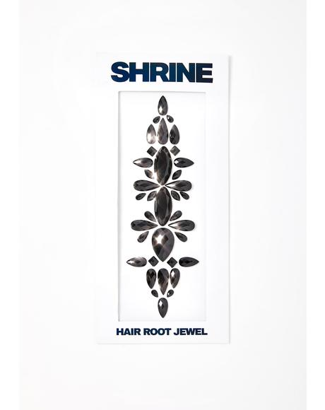 Black Hair Root Jewel