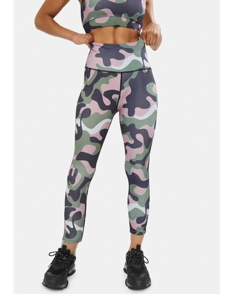 Petal Reporting 4 Duty Camo Leggings