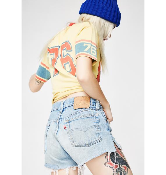 Vintage Levis Denim Shorts