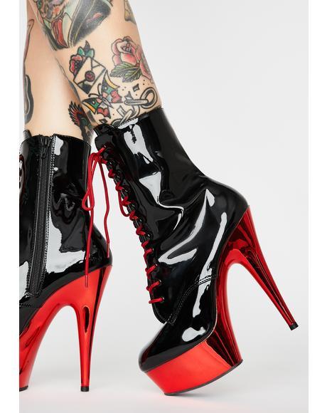 Hot Sinful Addiction Stiletto Boots