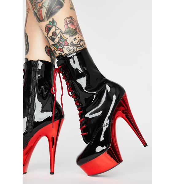 Pleaser Hot Sinful Addiction Stiletto Boots
