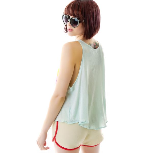 Wildfox Couture Over the Rainbow Cassidy Tank