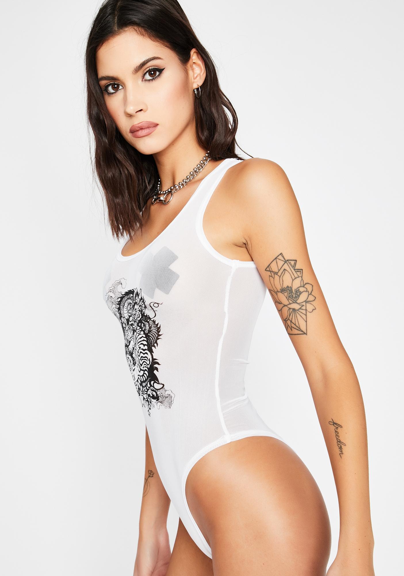 I'm Real Graphic Bodysuit