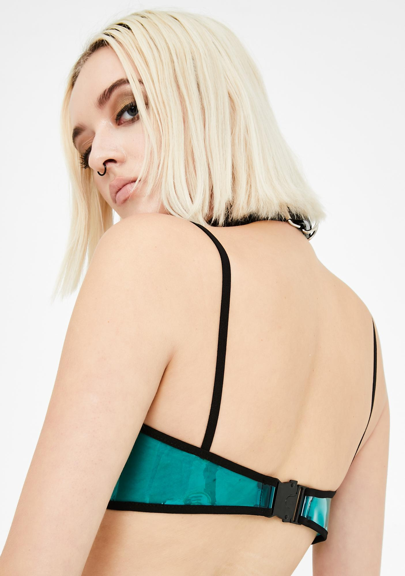 GoGuy Teal Under Boob Top