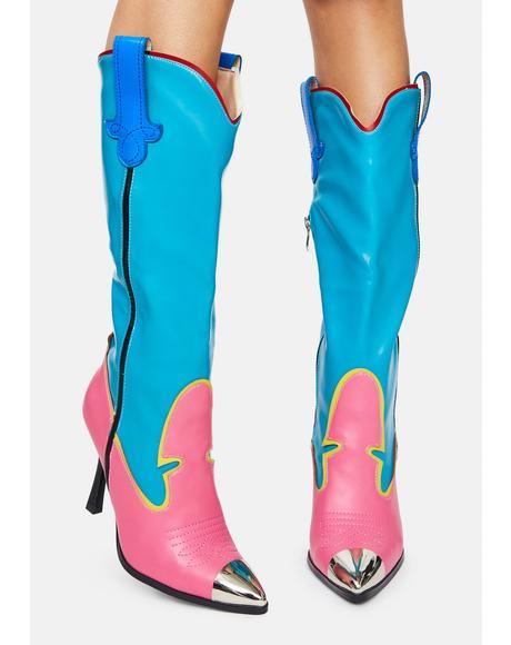 Chella Cowboy Boots