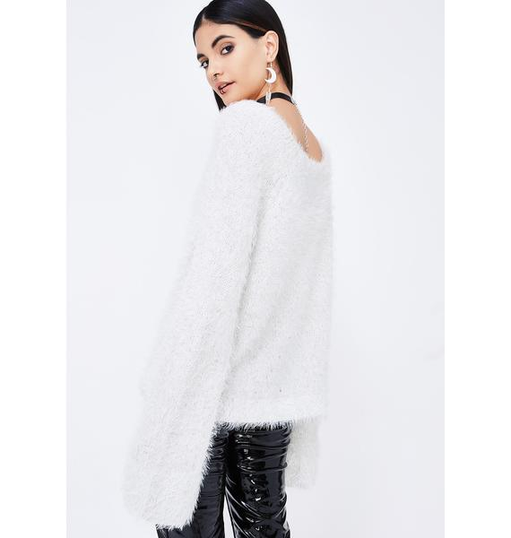 Fluffed Sweater