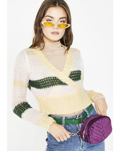 Juke Jam Cropped Sweater