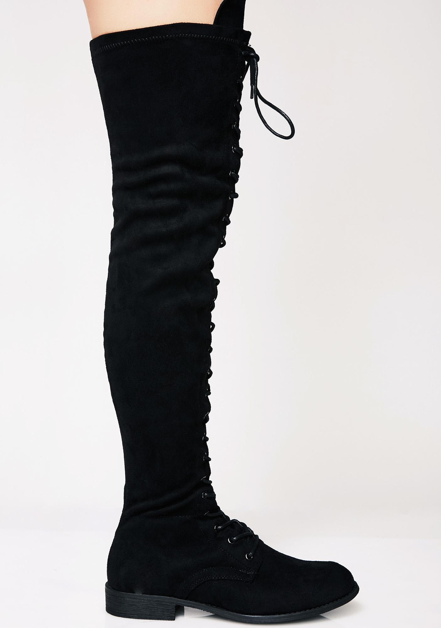 Won't Beg Over The Knee Boots