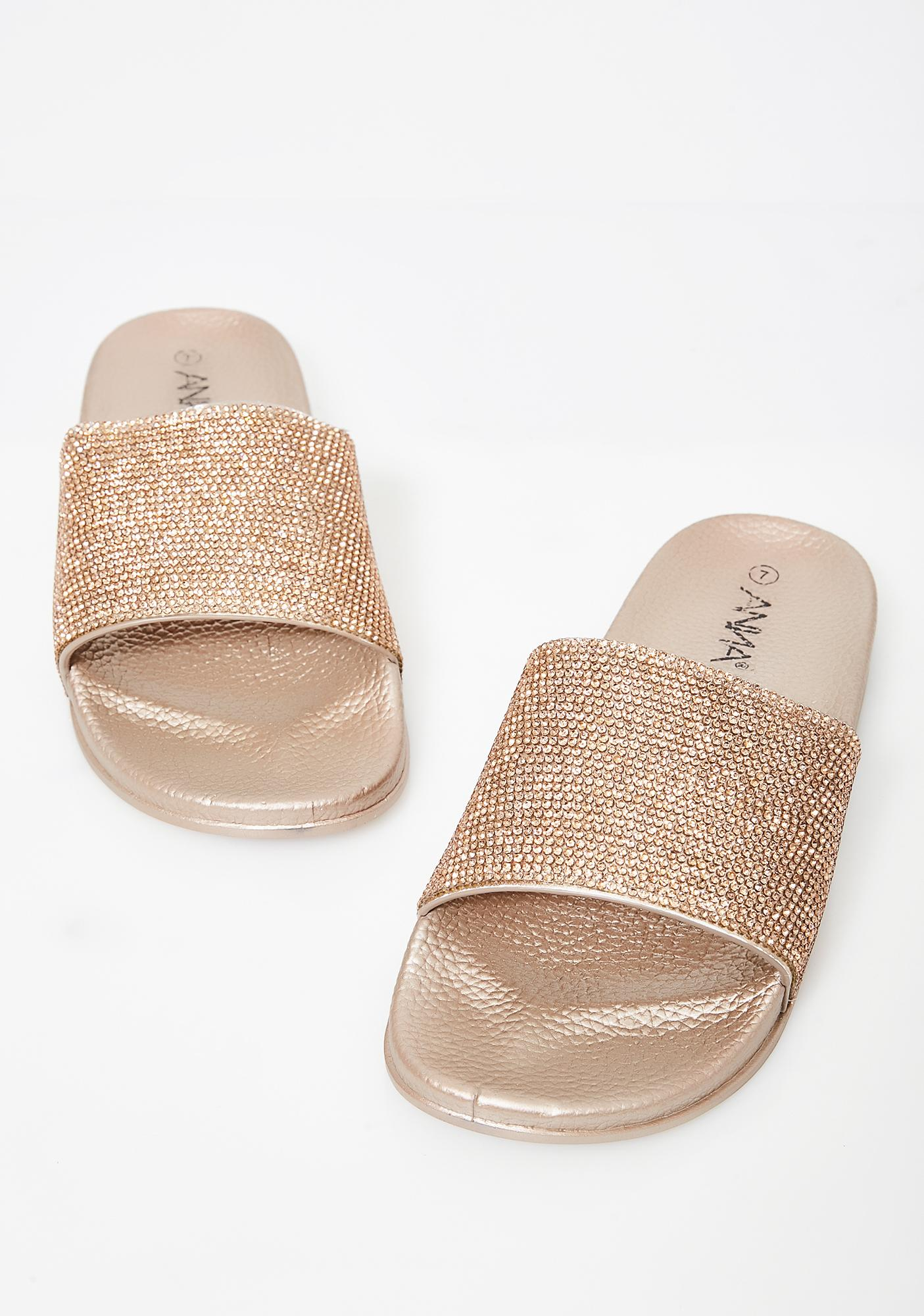 Bronze Livin' Lavish Slides