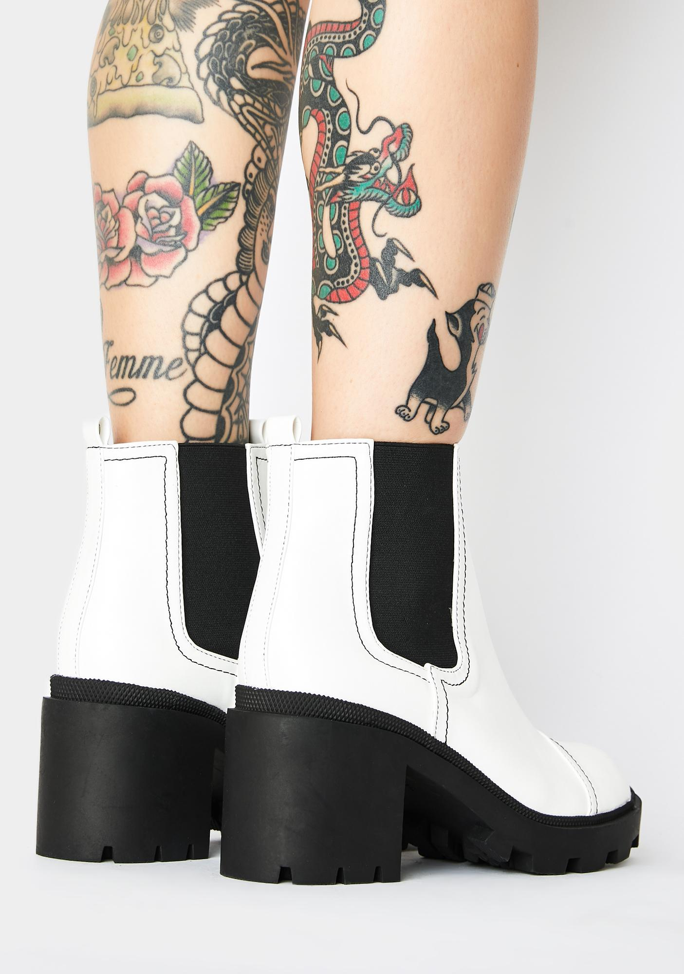 Public Desire Cambell Ankle Boots