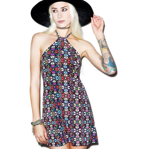 Motel La Boheme Jersey Dress