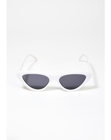 Zoe Cat Eye Sunglasses