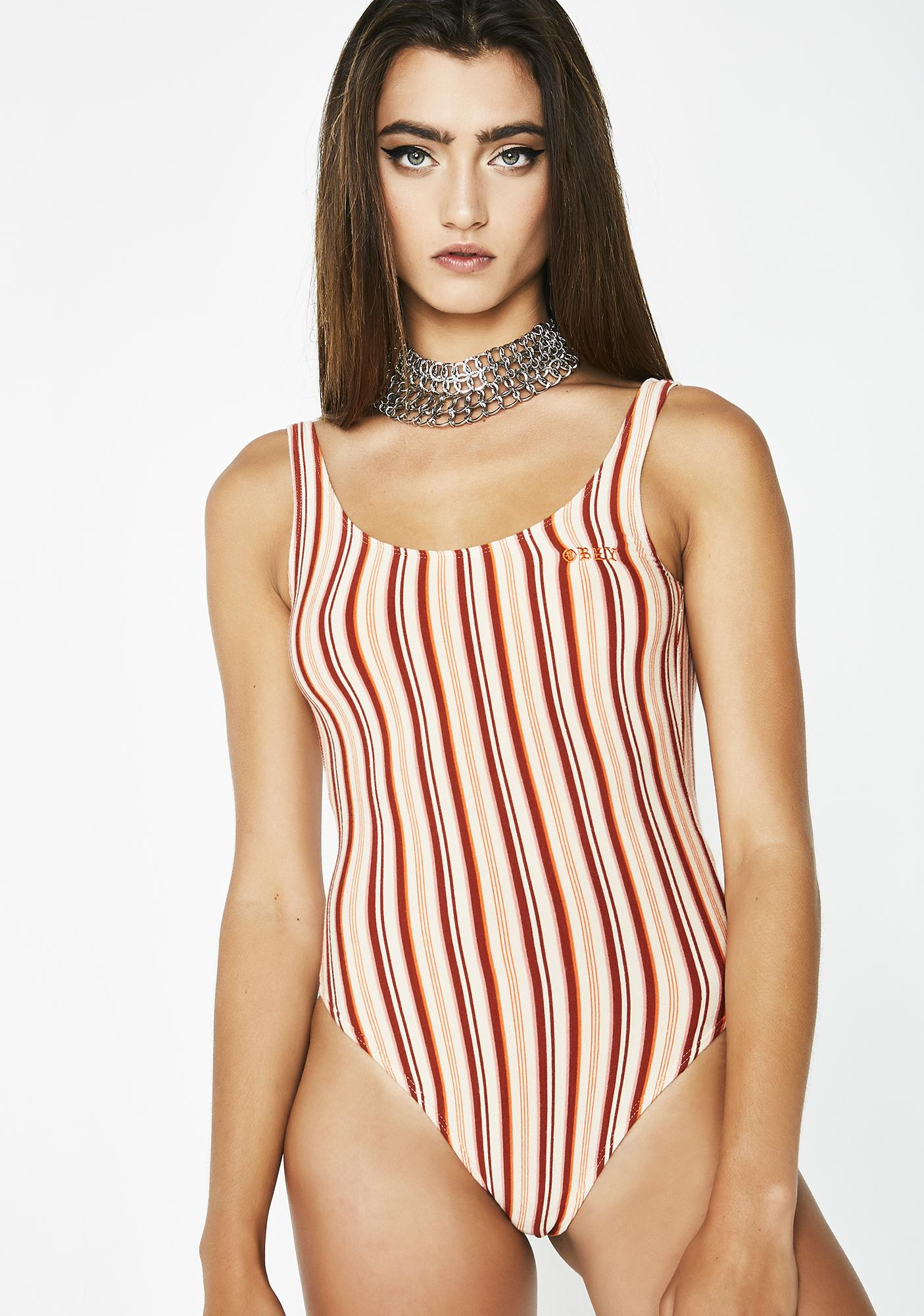 Obey Both Sides Bodysuit