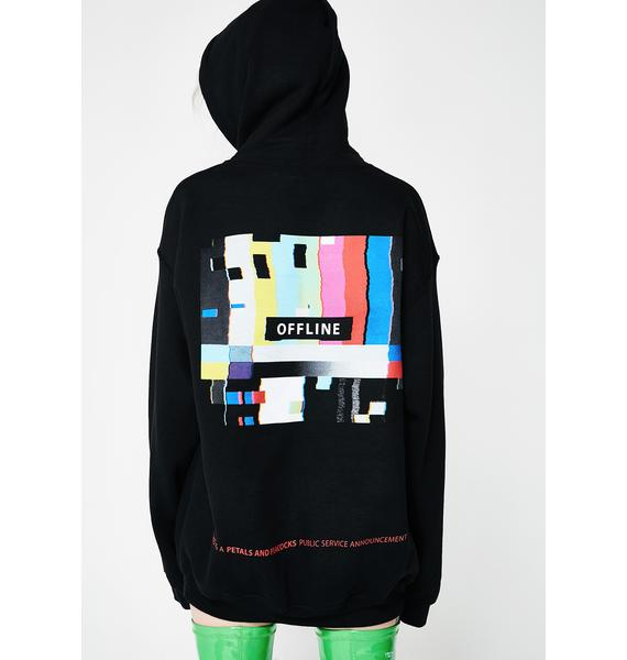 Petals and Peacocks Offline PSA Hoodie