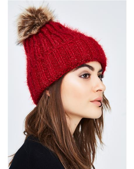 Wish List Pom Pom Beanie