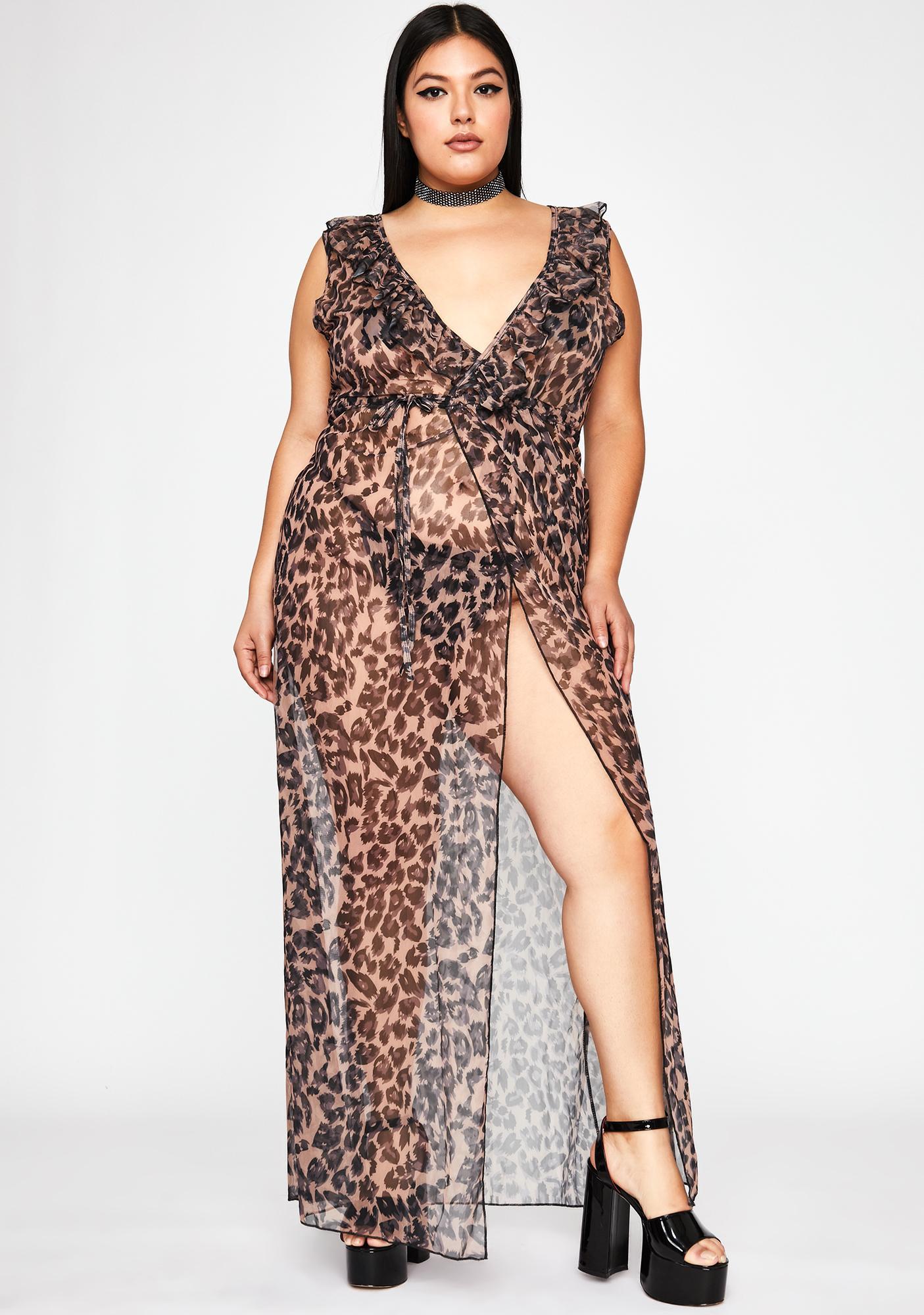 Scandalous Sacrifice Leopard Dress
