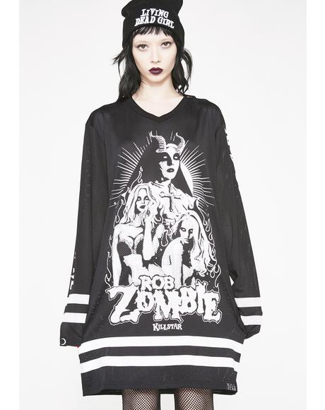 Living Dead Girl Hockey Jersey