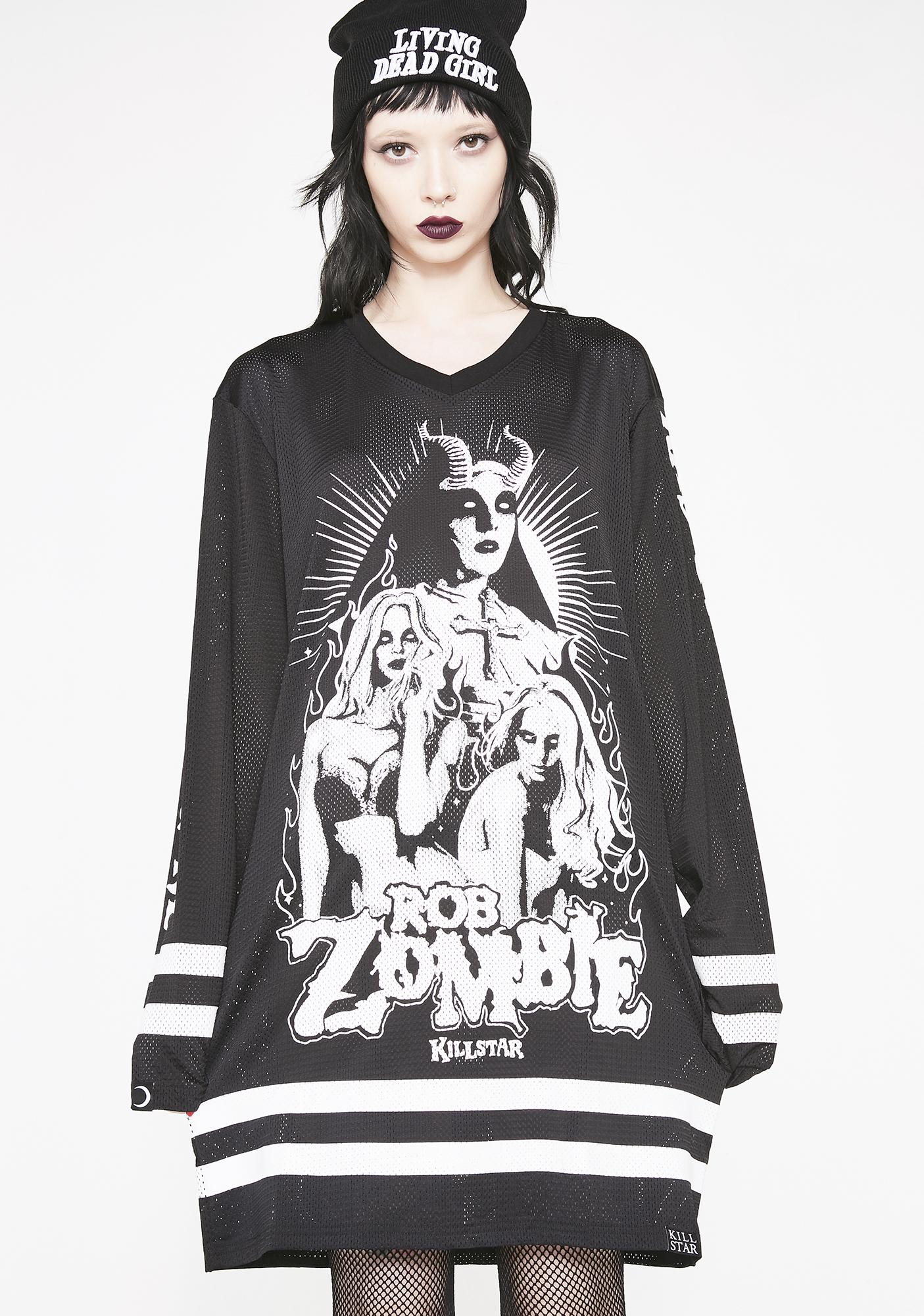 Killstar Living Dead Girl Hockey Jersey