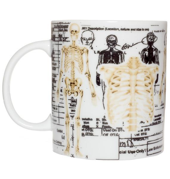 Sourpuss Clothing Skeleton Mug