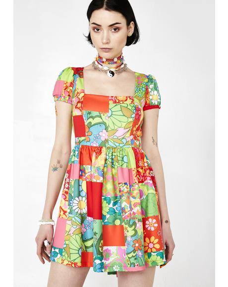 Sugar Magnolia Floral Dress