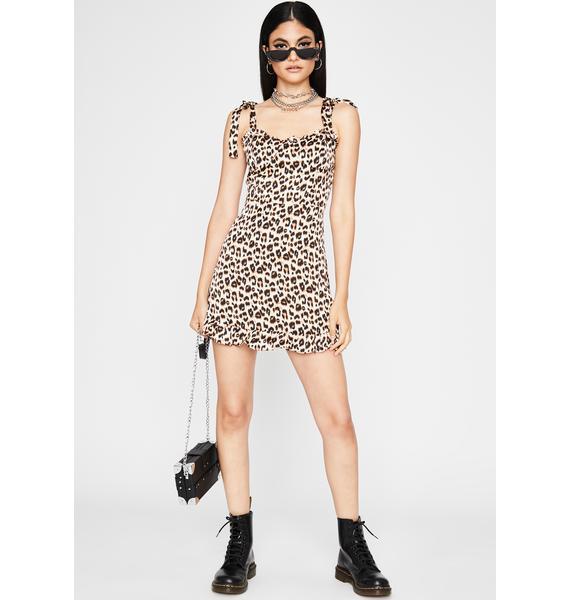 Prowlin' Pretty Leopard Dress