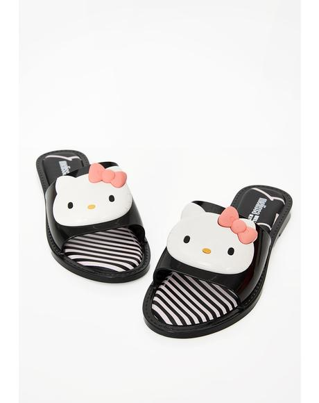 X Hello Kitty Sandal Slippers