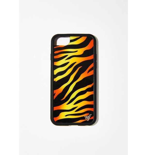 Wildflower Tiger IPhone Case