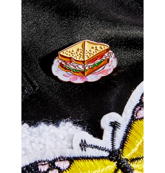 Rosehound Apparel Turkey Sandwich Enamel Pin