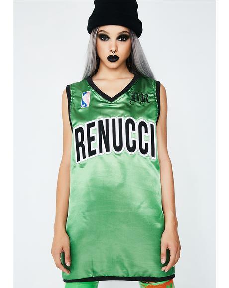 Green B-Ball Jersey