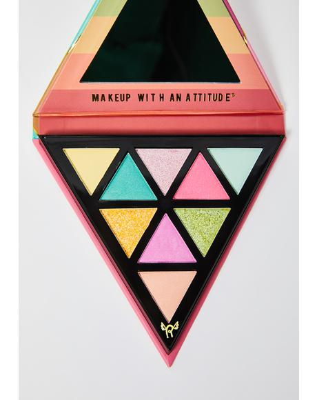 Disco Mode The 70's Eyeshadow Palette