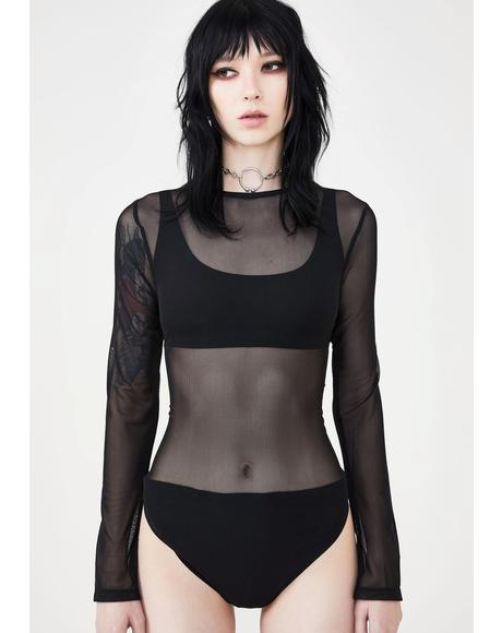 Ghost Sheer Bodysuit