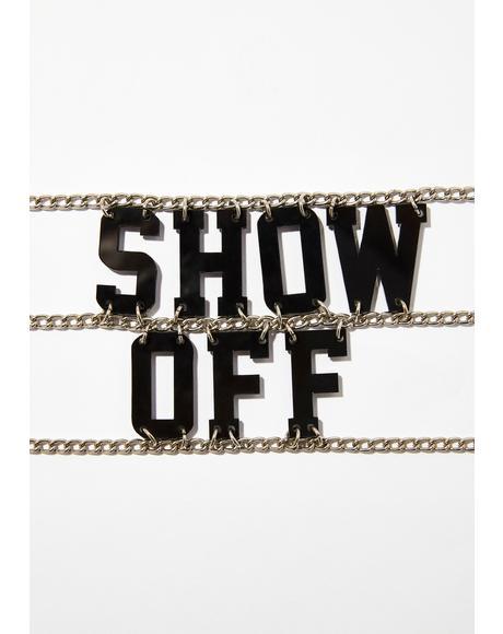 Show Off Choker