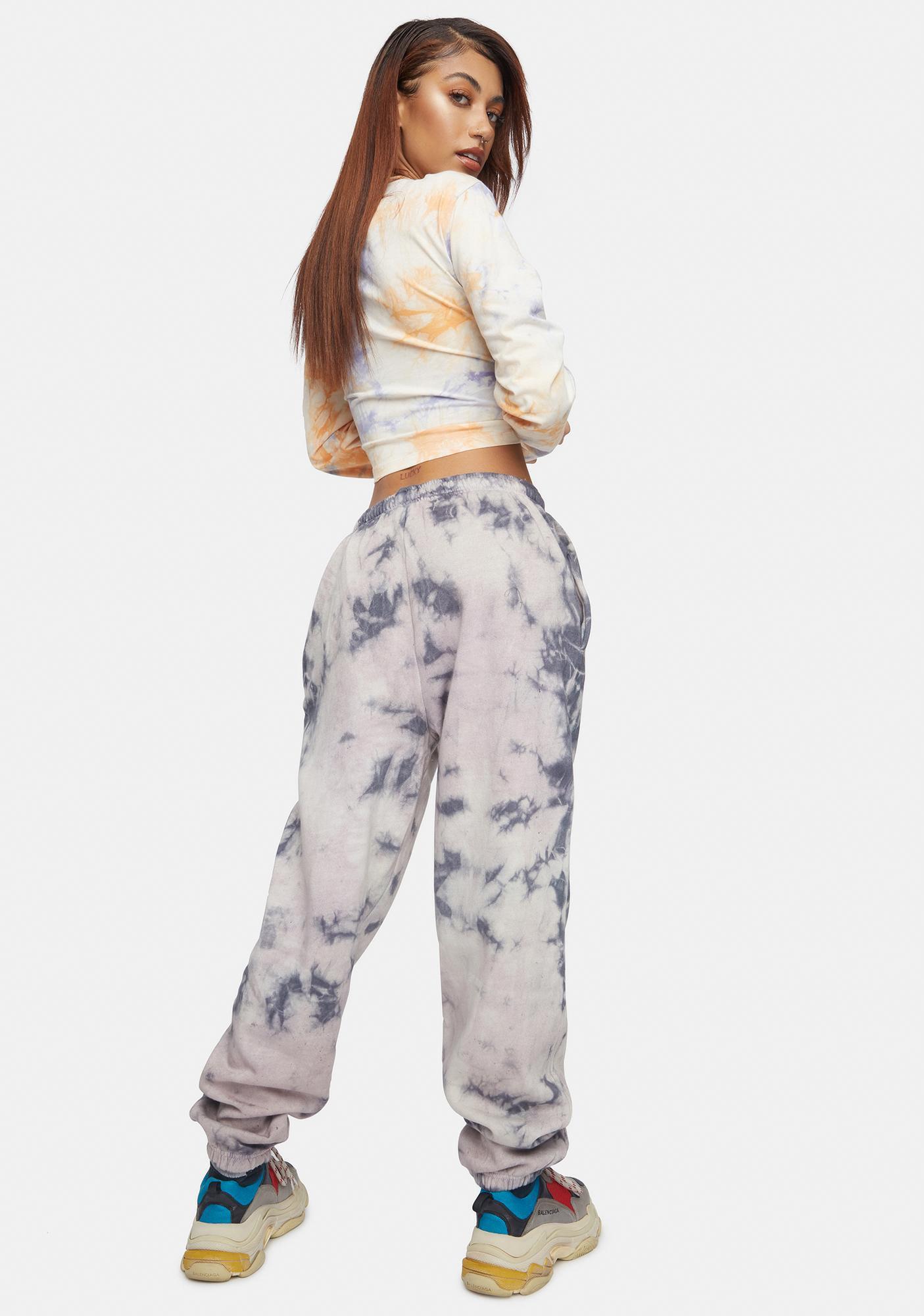 Daisy Street Megan Tie Dye Joggers